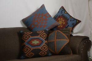 Handwoven Kilim Pillow,Decorative Pillow,Kilim Pillows,Kilim Pillow Cover,Boho Kilim Pillow No:0783
