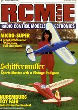 RADIO CONTROL MODELS & ELECTRONICS MAGAZINE 1987 APR KEN FISHER'S SCHUFFERMULLER