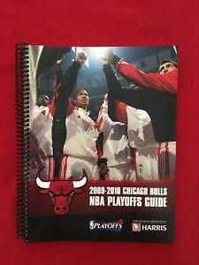 2010 NBA Chicago Bulls playoffs media guide / Deng / Hinrich / Noah / Rose