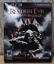 New! Resident Evil Operation Raccoon City [Special Edition] PlayStation 3, 2012