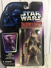 Star Wars Shadow Of The Empire Leila In Boushh Disguise W Blaster Rifle & Helmet