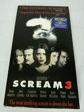 Scream 3 (VHS, 2000)