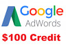 Google Ads US Get $100 credit Adwords Promotion