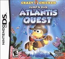 Crazy Chicken: Atlantis Quest (Nintendo DS, 2009)