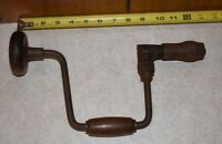 Antique Brace Hand Drill PS&W CO 3310 - Made in USA - Peck, Stow, & Wilcox RARE