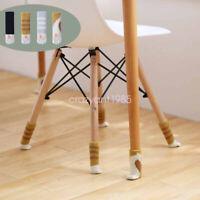 8pcs Chair Desk Leg Socks Furniture Feet Covers Floor Protectors Slipcover Caps