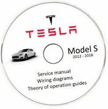 2012-2016 Tesla model S Service Repair Workshop Manual Wiring diagrams