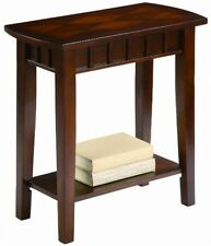 Side Table Drawer Living Room Furniture Drawer Small Storage Wood Mission End