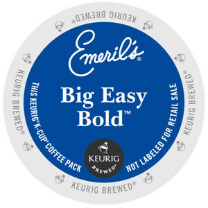 Emeril's Big Easy Bold Coffee 24 to 144 Keurig K cups Pick Any Size FREE SHIP