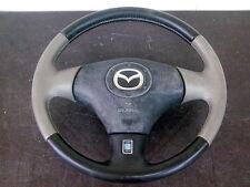 JDM Mazda RX7 FD3S FD Nardi steering wheel OEM miata mx5 torino 13b leather srs
