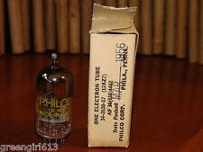 Vintage Philco 12AZ7 D-Getter Stereo Tube Results = 4210/3950