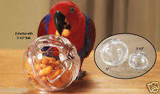 BUFFET BALL FORAGING PLAY TOY AMAZON AFRICAN GREY MACAW PARROTS LARGE BIRDS
