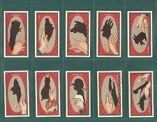 NOSTALGIA CLASSICS - 50 SETS OF 35 - ARDATH  ' HAND  SHADOWS ' CARDS
