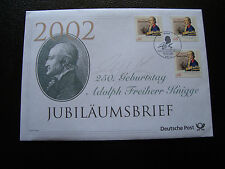 ALLEMAGNE - enveloppe 7/2/2002 (cy28) germany