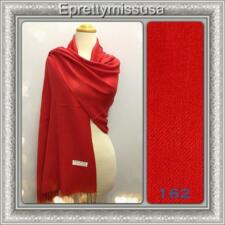 ePretty USA Seller 21 colors B Style Solid  2-Ply Pashmina Shawl/Scarf