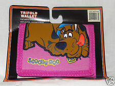 NEW IN PACKAGE SCOOBY DOO KIDS TRIFOLD   WALLET