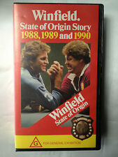 WINFIELD STATE OF ORIGIN STORY~1988, 1989 & 1990 ~RUGBY LEAGUE~ RARE VHS VIDEO