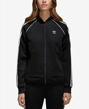 adidas Originals  adicolor Superstar Three-Stripe Track Jacket-BLACK-XL-NWT