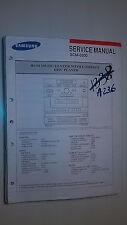 Samsung scm-8300 service manual original repair book stereo radio tape cd player