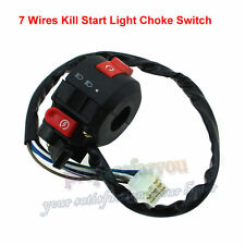 ATV Kill Start Light Choke Switch For 50 70 90 110 125cc Quad Taotao Sunl Roketa