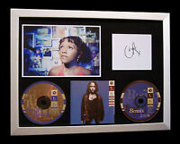 CARLEEN ANDERSON+SIGNED+FRAMED+TRUE SPIRIT=100% AUTHENTIC+EXPRESS GLOBAL SHIP