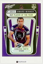 2012 Select NRL Dynasty Award Winners Card AW4 Cameron Smith (Storm)
