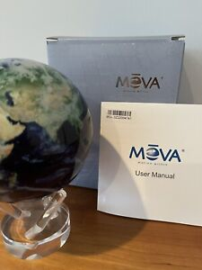 Mova Earth With Clouds Globe 4.5 Inch Satellite View