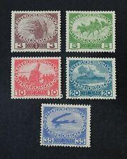 Ckstamps: Austria Stamps Collection Scott#B3-B7 Mint H Og
