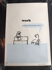 Stop Paying- Signed # Ltd.Ed. Print by Modern Toss- Pictures on Walls Banksy