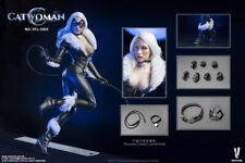 VERYCOOL Sexy CAT WOMAN Black Suit w/ Head Set 1/6 Fit for Phicen Female Body