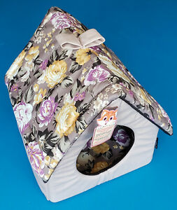 """Modern Soft Plush Pet Boot Cats or Small Dogs Size L15"""" W15"""" H16"""""""