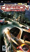 Need for Speed: Carbon Own the City PLT video gioco PSP playstation portatile