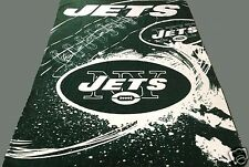 New York Jets blanket bedding 90x66 XXL FREE SHIPPING NFL Jets throw