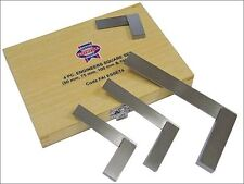 Faithfull Engineers Squares Set 4pc 2 3 4 6in