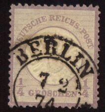 Deutsches Reich 16 großes Brustschild gestempelt