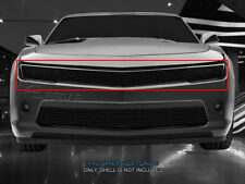 For 2014-2015 Chevy Camaro Phantom RS Style Black Billet Grille Grill