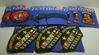 Lot of 12 new military sew on iron on Patches for resale free shipping 2b A7