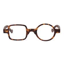 Mens Womens Vintage Square Round Full Rim Readers Reading Glasses Eyeglasses