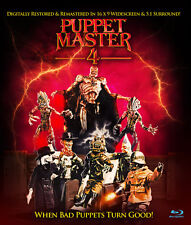 Puppet Master 4: When Bad Puppets Turn Good Blu-ray, Charles Band, Full Moon