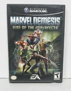 GameCube Replacement Case - Case And Manual  Only - NO GAME - Marvel Nemesis