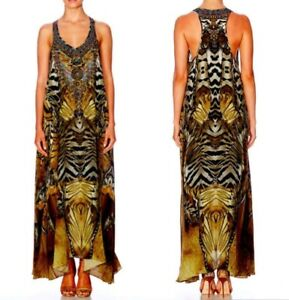 As New Camilla Given To The Wild V Neck Racer Back Dress RRP $599 SOLD OUT