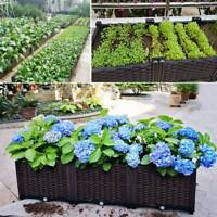 2pcs/4pcs Raised Garden Bed Elevated Flower Vegetable Grow Planter Care Box