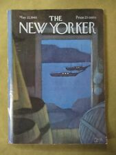 Vintage New Yorker Magazine May 22 1965 - Charles E Martin cover art