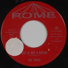 THE EARLS: It's You / Life is But A Dream ROME Bell Sound DOO WOP Orig 45 Hear