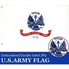 - U.S. Army Military Flag 2ftx3ft 2x3 2'x3' Double Sided 2ply Embroidered Heavy
