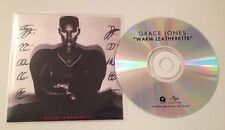 Grace Jones - Warm Leatherette 8 Track UK Promo Cd Album Ultra Rare 2016