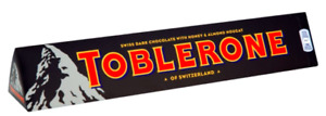 Toblerone Dark Chocolate 1,2,3,4 or 10 x 360g Bars DATED 07/06/2021 OUT OF DATE