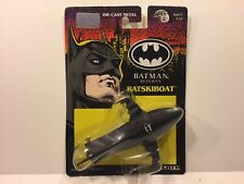 Vintage Batman Returns Movie BATSKIBOAT ERTL 1992 Die-Cast Toy Vehicle MOC