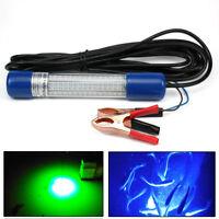 12V LED Fishing Light For Prawns and Fish Light for Squid Underwater Blue&Green