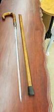 Vintage Walking Stick/Cane with Hidden Sword